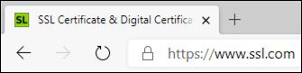 EV website in Edge