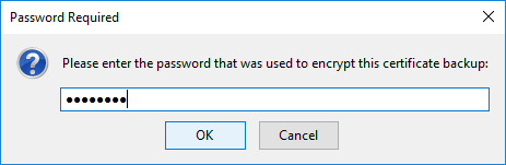 Password Required