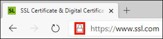 Click the lock